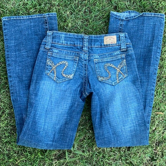 Hydraulic Denim - Hydraulic jeans distressed with rear pocket detail